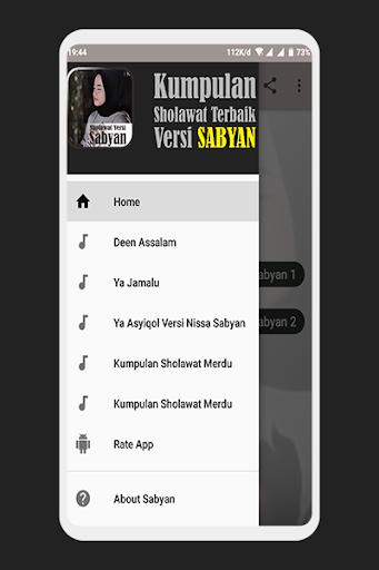 Sholawat Nissa Sabyan Offline Mp3 1.0 screenshots 1
