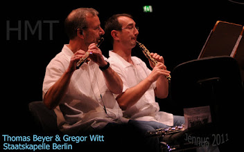 Photo: Thomas Beyer & Gregor Witt an der HMT Rosock