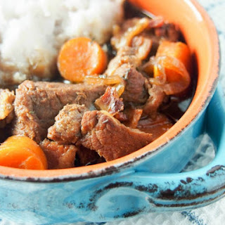 Beef And Stout Stew.
