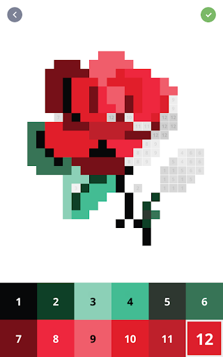 Pixel Art - Colour by Number Book 2.1.2 screenshots 12