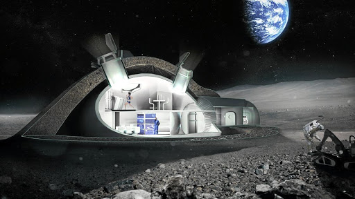 Designing houses for the moon should change the way we build on Earth