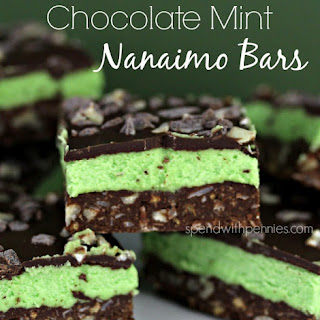 Chocolate Mint Nanaimo Bars (No Bake)