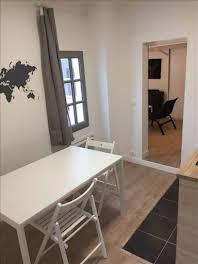 Appartement meublé 2 pièces 23,5 m2