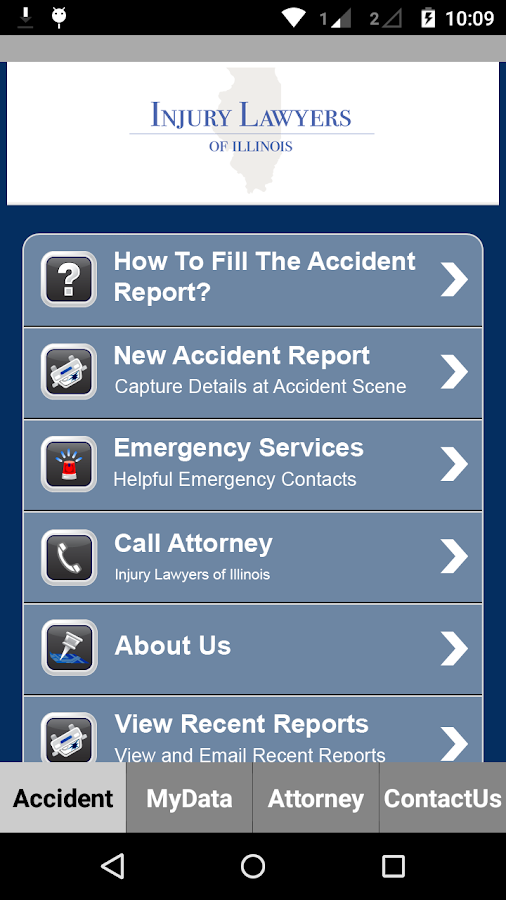 Injury Lawyers of Illinois- screenshot