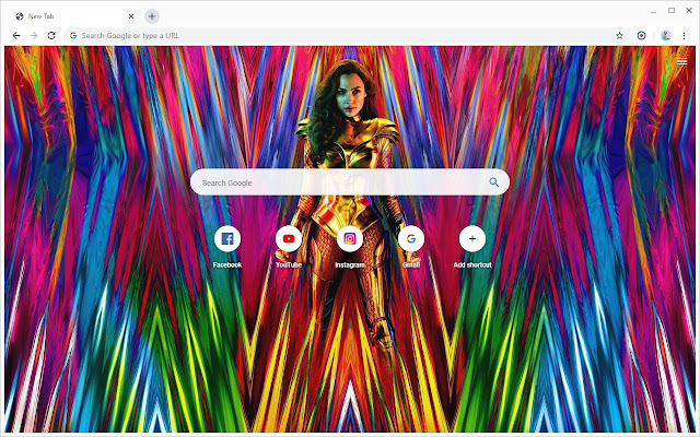 Wonder Woman 1984 Wallpapers New Tab