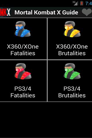 Guide Mortal Kombat X