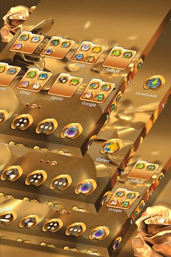 Rose Gold Launcher Theme  screenshots 5