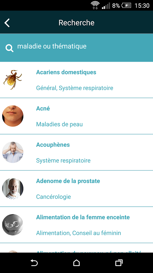 Docavenue – Capture d'écran