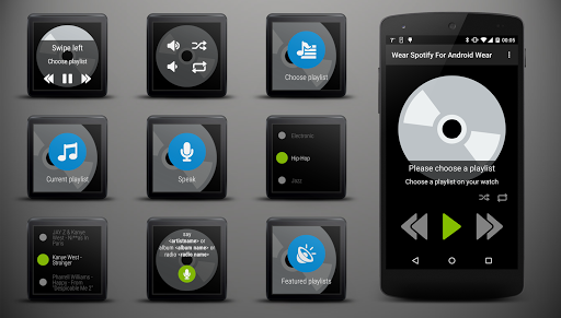 Wear Spotify For Wear OS (Android Wear) screenshot