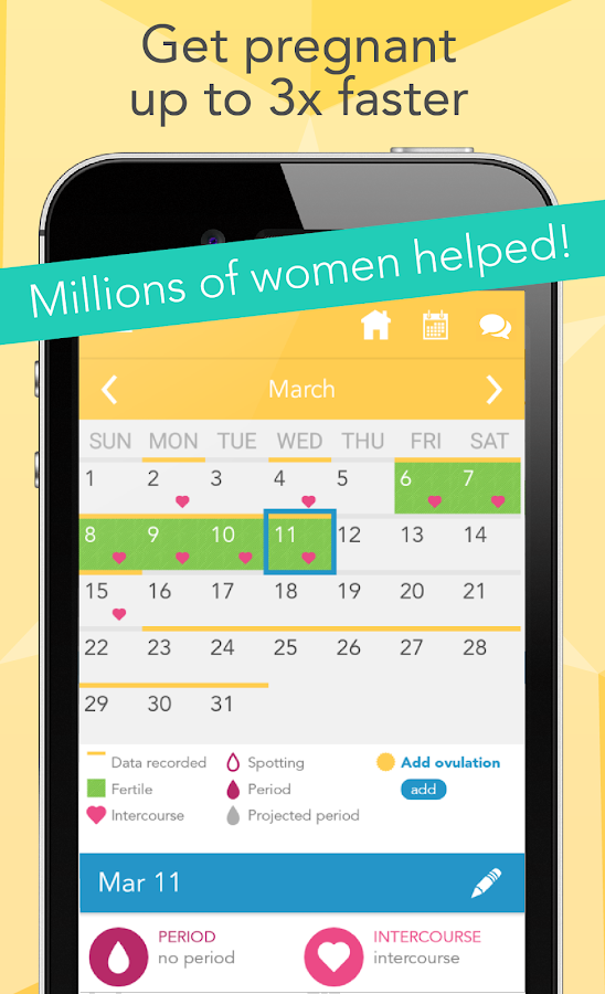 Ovia Fertility Tracker & Ovulation Calculator- screenshot