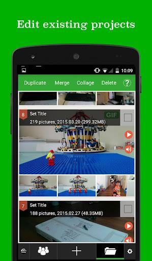 PicPac Stop Motion & TimeLapse 1.53 screenshots 7