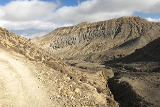 Photo: Cheminement sur la Siyarko Tangk danda