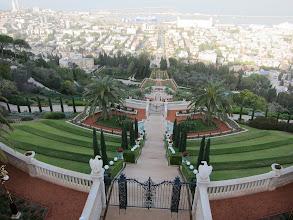 Photo: Bahai Gardens