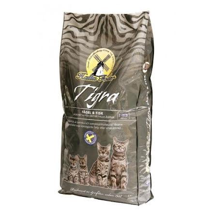 Kattfoder Halla Tigra Fågel & Fisk 10 kg