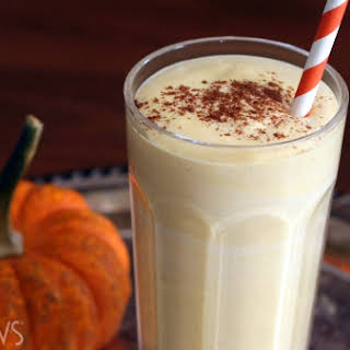Low-carb Pumpkin Cheesecake Smoothie.