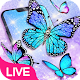 Glitter Neon Butterfly Live Wallpaper Download for PC Windows 10/8/7