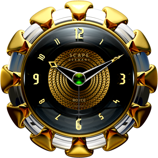 ROYCE Analog Clock Widget