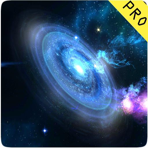 3D Galaxies Live Wallpaper