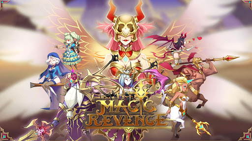 Magic Revenge: Mighty AFK RPG  captures d'écran 1