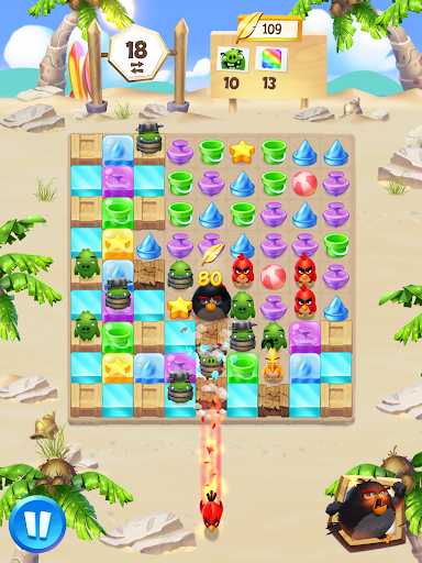 Angry Birds Match 3 - screenshot