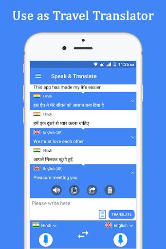 Speak and Translate Voice Translator & Interpreter screenshot 4