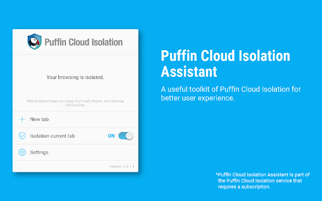 Puffin Cloud Isolation Assistant