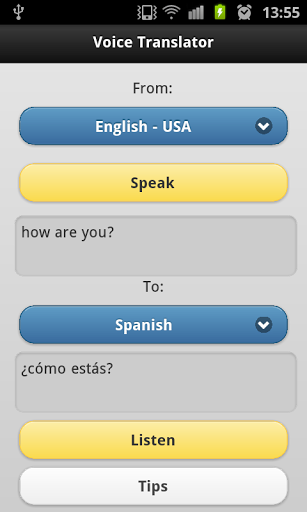 Voice Translator Free Screenshot