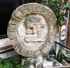 Photo: Tässä maya-kalenteri - ja siis maailmanloppua ei tullutkaan joulukuussa 2012, eli jotenkin tämä sitten jatkuu kuitenkin :-)