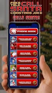 Fake Talk Santa Call Christmas Joke - náhled