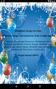 screenshot image - Christmas Songs For Kids