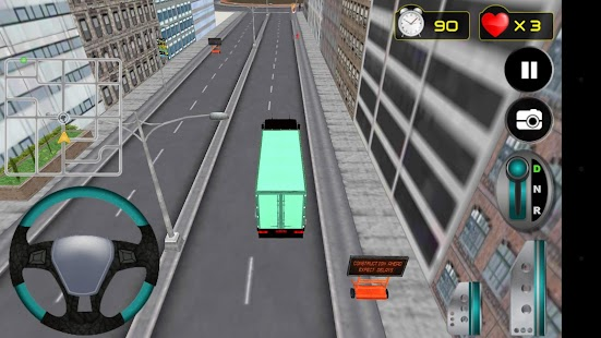 Truck Speed Driving Simulator - náhled