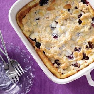 Blackberry Semolina Pudding