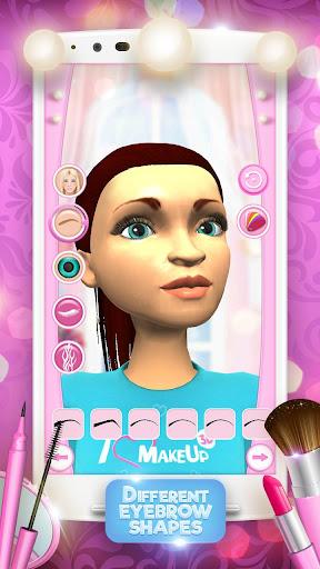 3D Makeup Games For Girls 3.0.2 screenshots 1