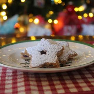 Shortbread Linzer Tart Cookies