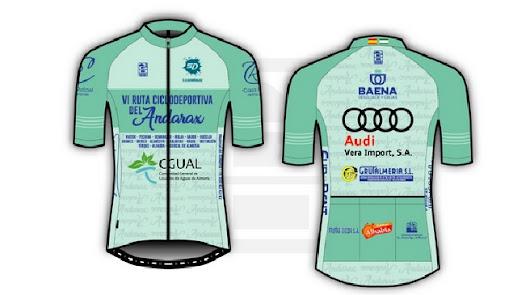 VI Ruta Ciclodeportiva del Andarax ya tiene maillot