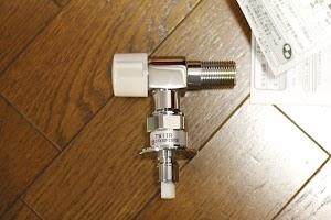 TOTO TW11R 洗濯機用水栓(緊急止水付) 全体写真2