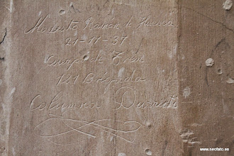 Photo: 01.06.2014.- SALVEMOS LA CARTUJA DE LA FUENTES. Inscripción en la pared: Columna Durruti