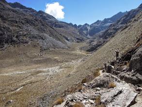 Photo: Valley towards Laguna El Suero