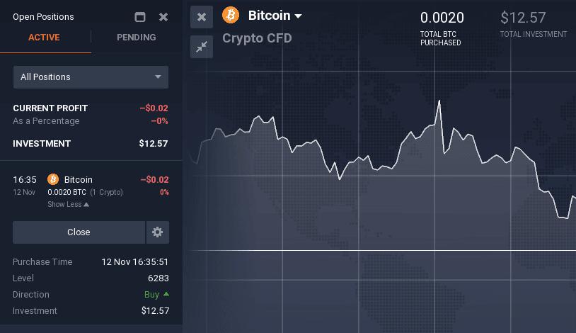 cum de a tranzacționa bitcoin pe opțiunea iq