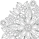 花の曼荼羅のぬりえブック - Androidアプリ