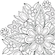 Flowers Mandala coloring book (game)