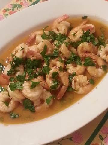 Spanish Style Shrimp with Garlic