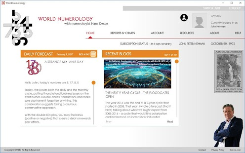 World Numerology Collection- screenshot thumbnail