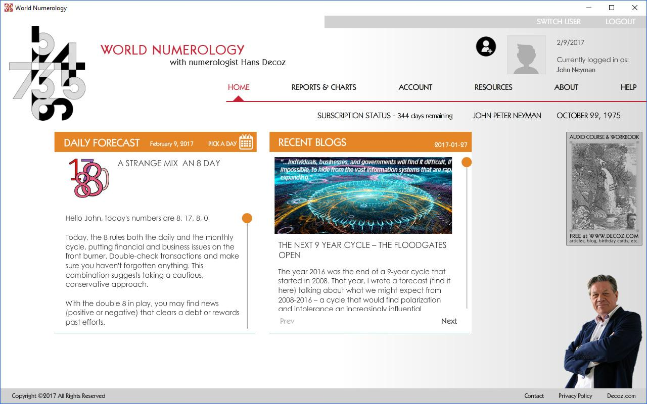 World Numerology Collection- screenshot