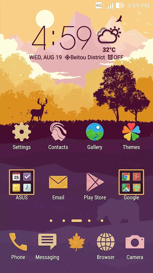 Autumn ASUS ZenUI Theme - Android Apps on Google Play