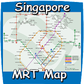 Singapore MRT Map 2015