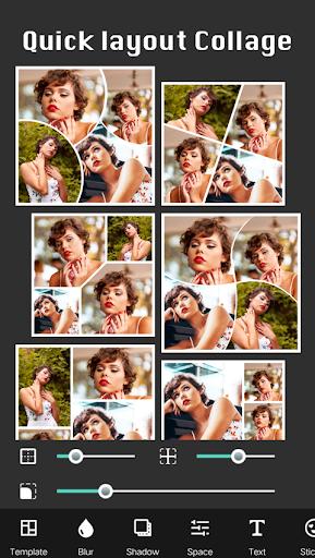 Square Pic Photo Editor - Collage Maker Photo Blur screenshots 3