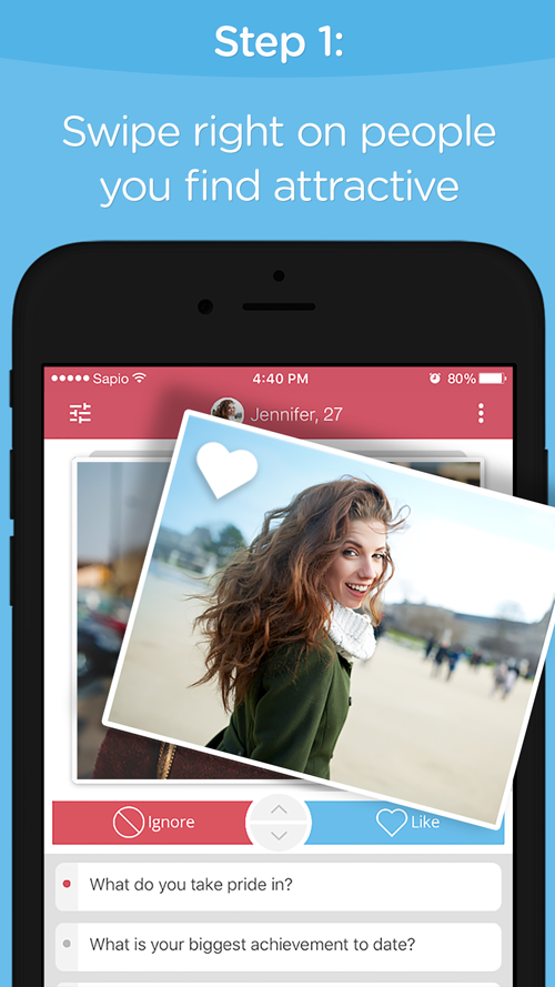 sapio dating Dating apps are having a moment match group, the parent company of tinder, plentyoffish, match, howaboutwe, and okcupid, filed to go public recently according to its ipo prospectus, it generated revenues of $8883 million last year, up about 11% year-over-year and jswipe, a popular dating .