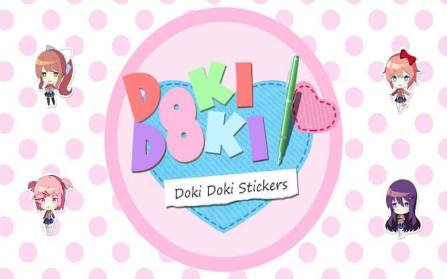 Doki Doki Literature Club Stickers