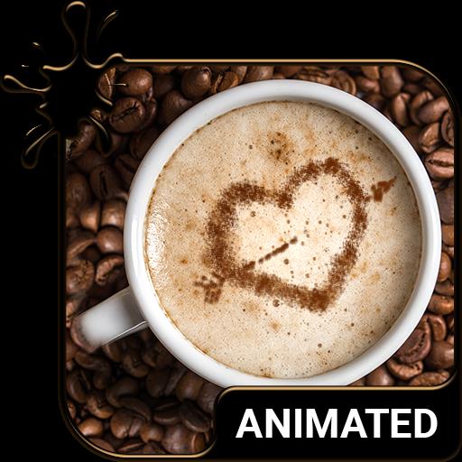 Coffee Animated Keyboard